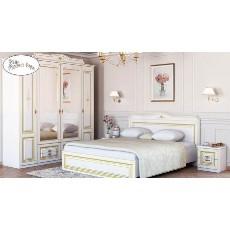 Спальня Агата с патиной