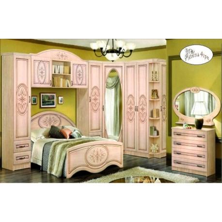 Спальня Снежана с патиной